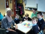 Maths Week activities with help from parents in second class